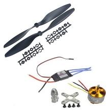 1PCS A2212 1000KV 13T Outrunner Motor & JMT 30A ESC &1045 Prop Propeller For F450 F500 F550 Drone