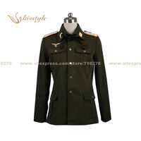 Kisstyle Fashion Strike Witches Minna Dietrich Wilcke Furstin Uniform COS Clothing Cosplay Costume,Customized Accepted
