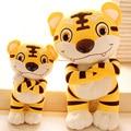 Lovely Stuffed Animal Toys 35/50cm Kawaii Tiger Plush Toys Soft Plush Pillow 100% PP Cotton Large Plush Doll Birthday Gift