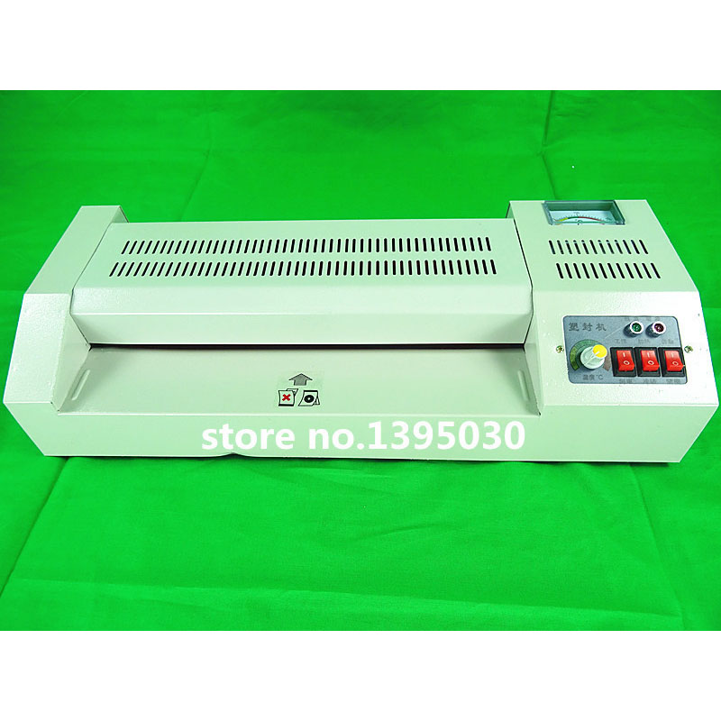 1pcs A3 laminator hot and cold lamintor laminating machine 320 hot laminator hot machine a3 photo laminator hot cold laminator plastificadora termolaminar machine laminating speed 80 125mic film laminating