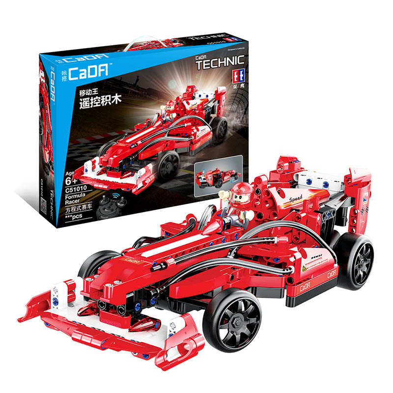 Technic Series Remote Control Formula One Racing Car Building Blocks DIY Toy Compatible with LegoINGlys Educational Toy 317 Pcs compatible legoinglys technic series class sports car f40 1158pcs elementary education building blocks toy for children gift