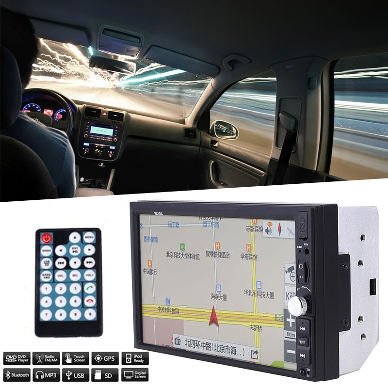 2 Din HD Car Auto Radio Touch Screen GPS MP5 Multimedia WiFi For Android5.1 навигатор gps lexand cd5 hd cd5 hd