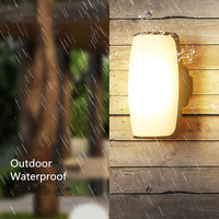 Kenlux 18W LED Wall Light outdoor Waterproof lamp Energy saving Porch LED Wall Lamp AC85 265 WW/WH Garden Yard Light