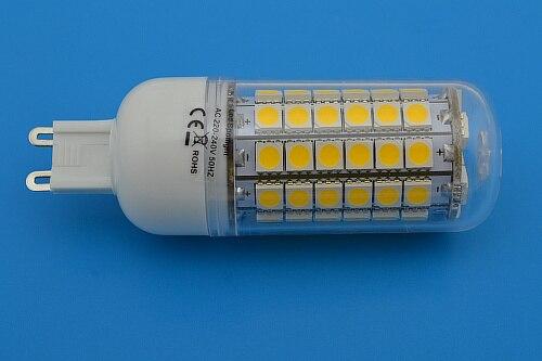 G9  Chip   LED Cool White Lighting  Bulb Lamp 220V 12W  mini  lights for home 5050 SMD