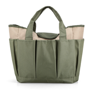 Image 3 - Garden Tool Bag Outdoor Tools Oxford Fabric Garden Square Box Type Bag for Gardening Tool Kit Outdoor Tools