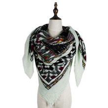 2015 Free Shipping Soft Material 140*140cm+3CM Fringe  Womens Fashion Square Cashmere Scarf