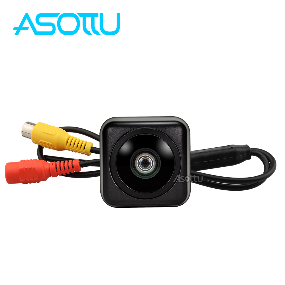 Asottu Universal Waterproof HD CCD 4 LED Night Vision Special Rear View Camera Parking Assistance for