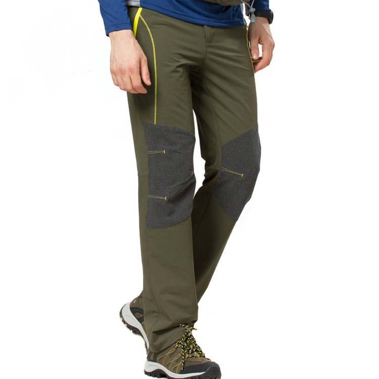2016 Spring Autumn Men Outdoor Sport Hiking Pants Windproof Breathable Quick Dry Male Climbing Trousers Size S-XXL Free Shipping dali 14 1 11в