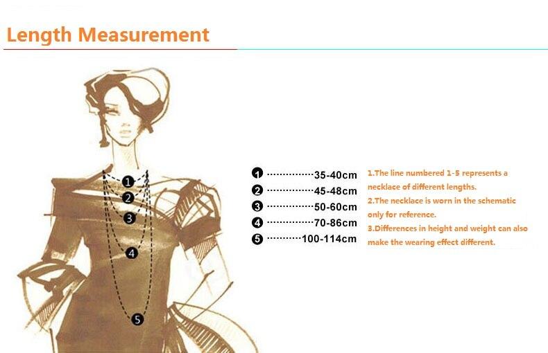 necklace length measurement