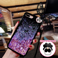 Love Heart Glitter Stars Dynamic Liquid Quicksand TPU Phone Back Cover Case For Huawei P10 Lite