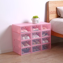 Transparent Detachable Shoe Storage Box Rack Drawer Cabinet Clothing Three-dimensional shoe cabinet