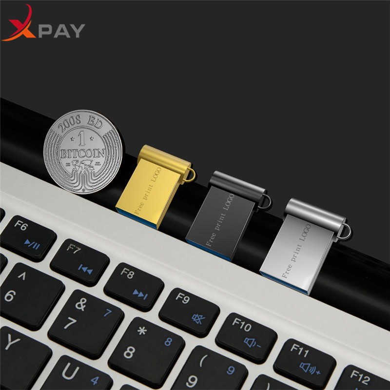 Image 4 - Hot sale Super Mini metal usb flash drive 4GB 8GB 16GB pen Drive 32GB 64GB 128GB usb 2.0 pendrive for gift flash stick Free LOGO-in USB Flash Drives from Computer & Office