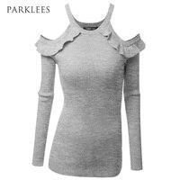Sweater T Shirt Women 2017 Spring New Long Sleeve Pink Knitting Sweater T Shirt Women O
