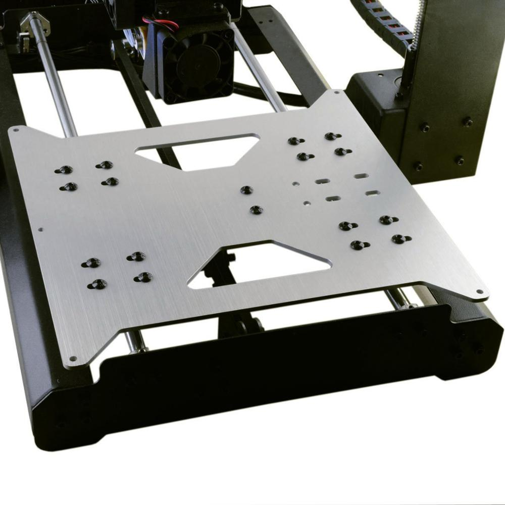 Funssor Wanhao de actualización Y placa de transporte para Wanhao duplicador i3/Monoprice de seleccione V1/V2/V2.1/3D impresoras