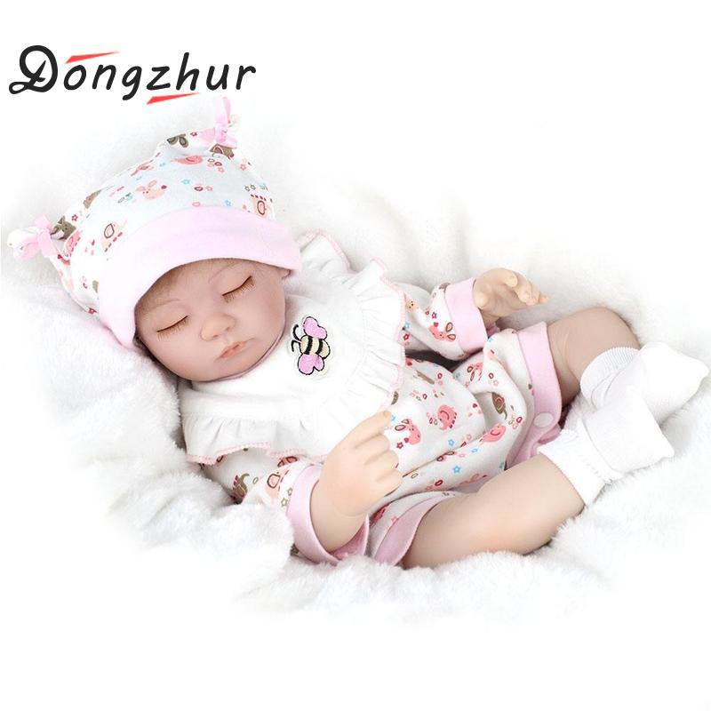 Dongzhur Silicone Reborn Baby Dolls Cartoon Fawn Clothes Silicone Npkdoll Girl Birthday Gift Toy Reborn Dolls Dropship modalu london mh6151 fawn