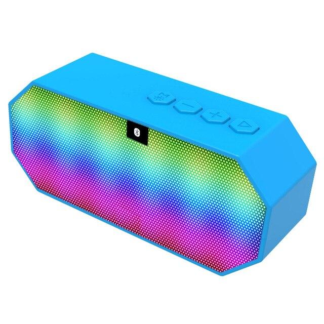 Melery e925 спорт беспроводной аудио led красочные портативный карты fm bluetooth маленький динамик громкой связи