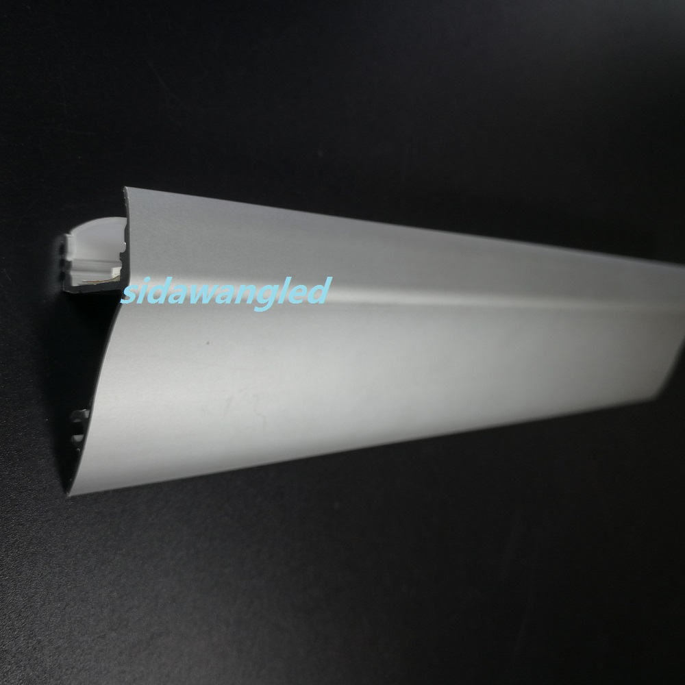 1000mm set 4 to 10meter pack Wall Mount LED Aluminum Channel Profile for Led Strip Surface
