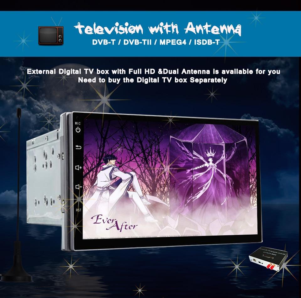 Cheap 8 Core 1024x600 Android 7.1 Car DVD GPS for Daihatsu Terios Eco Wild Perodua Nautica 2006-2012 with BT Radio Wifi 3/4G Head unit 12