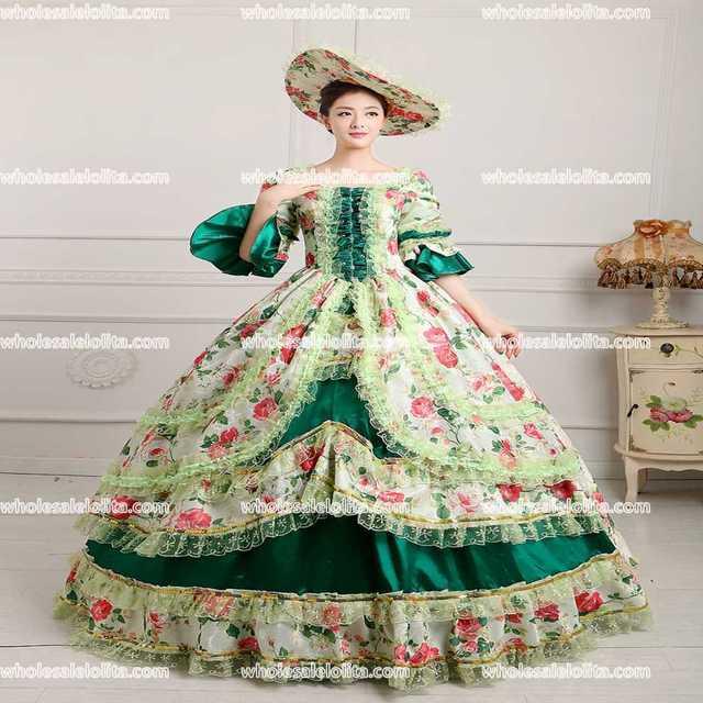 HOT !!! Global Freeshipping Royal Palace Rococo Princess Dress ...