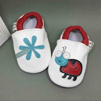 AdelaFlower Pram Shoes For Baby Boy Genuine Leather Toddler Girl Shoes Baby Moccasins Red Aunts Baby