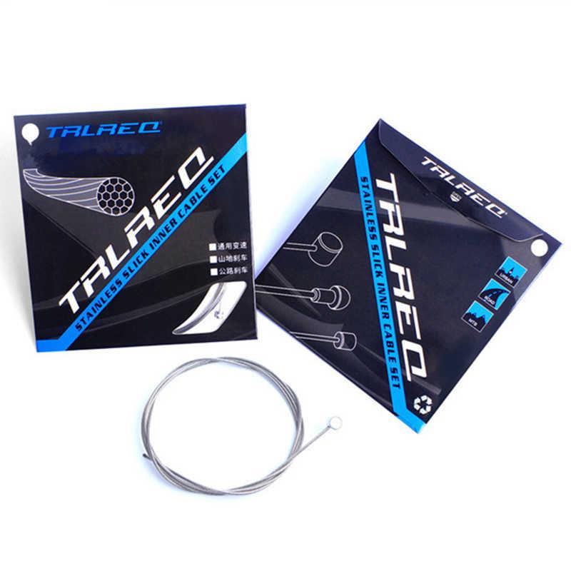1 шт Нержавеющаясталь тормоза строка переключения для МТВ дорога вообще велосипед Цельнокройное Шестерни тормоза комплекты кабелей Core внутренний тросик 2100 мм 1700 мм
