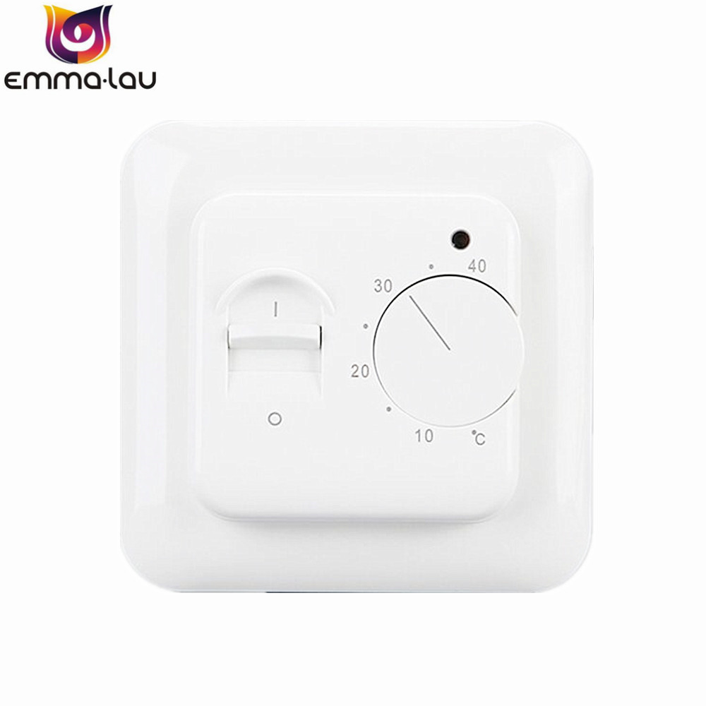 540c Electronic Floor Sensor Mechanical Thermostat Heating Knob On Off Temperature Control Switch Indoor Warm Thermoregulator In Instruments