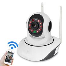 V380 1080P IP NETWORK WIFI HD SECURITY CCTV CAMERA 355 Degree PTZ IR-CUT IP ROBOT3 SD H.264 Wireless IP Camera Supports 64GB(China)