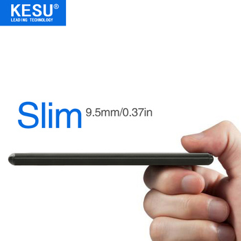 KESU Slim 9.5mm/0.37in 2.5″ Metal Portable External Hard Drive USB 500GB Storage HDD External HD Hard Disk  for PC Mac PS3