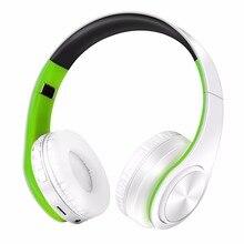 Nieuwe stereo headset bluetooth oortelefoon hoofdtelefoon draadloze bluetooth handenvrij universal voor alle telefoon voor iphone met microfoon