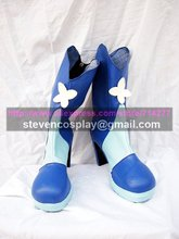 Custom-made Cheap Suite Pretty Cure Cure Aqua Cosplay Boots Cosplay Shoes Halloween(China)