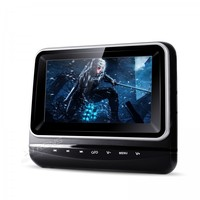 7 Single Car Headrest DVD Player D Digital TFT Screen Touch Panel Removable In Car & Home Use Auto Portable PC Car Monitor