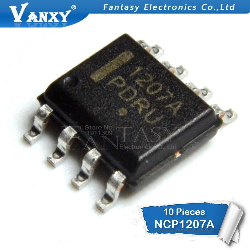 10pcs NCP1207A SOP-8 NCP1207 NCP1207ADR2G NCP1207ADR SOP 1207A SMD
