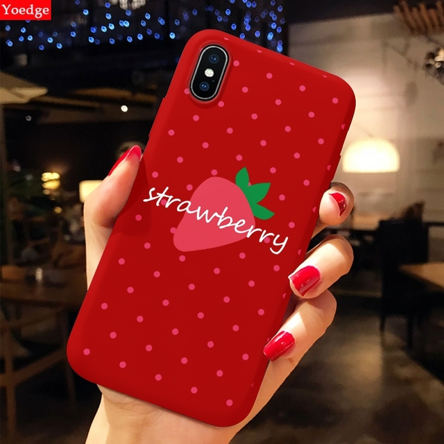Phone Case For iPhone 11 Pro XS Max XR X 10 8 7 6 S 6S Plus Luxury Soft TPU Back Cover Animal Red Capa Fundas For iPhone X Case