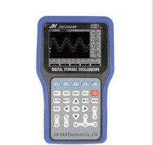 Cheap price JDS3022E Handheld Oscilloscope portable Oscilloscope Signal generator Data recorder 30MHz Bandwidth 2 channels one digital CH