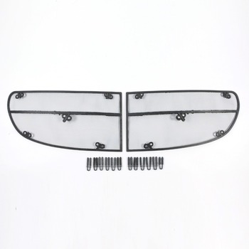Wtfs Stainless Steel ABS Insect Grille Mesh Grill Inserts Insect Net Insect-Proof Net for Mercedes-Benz E43 [QP1134]