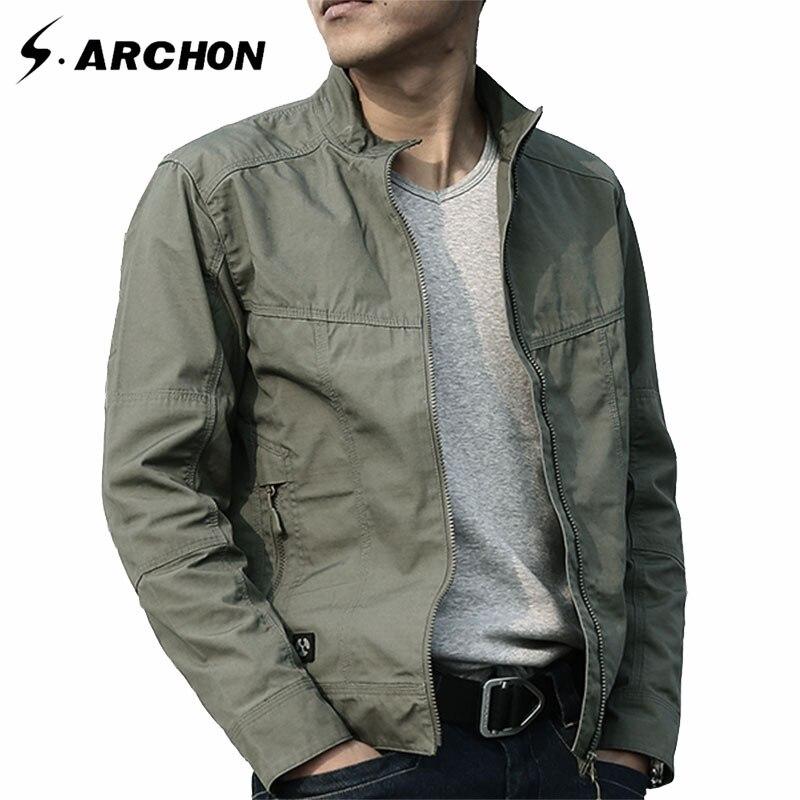 S. ARCHON убийца Военная Униформа куртка Для мужчин Водонепроницаемый ветровка тактическая Куртки Демисезонный армейские пальто