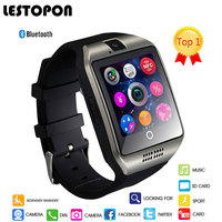 LESTOPON Smart Bluetooth Watch Phone Fashion Smartwatch Support Pedometer Sleep Monitoring Camera Dial Sports Watchs For