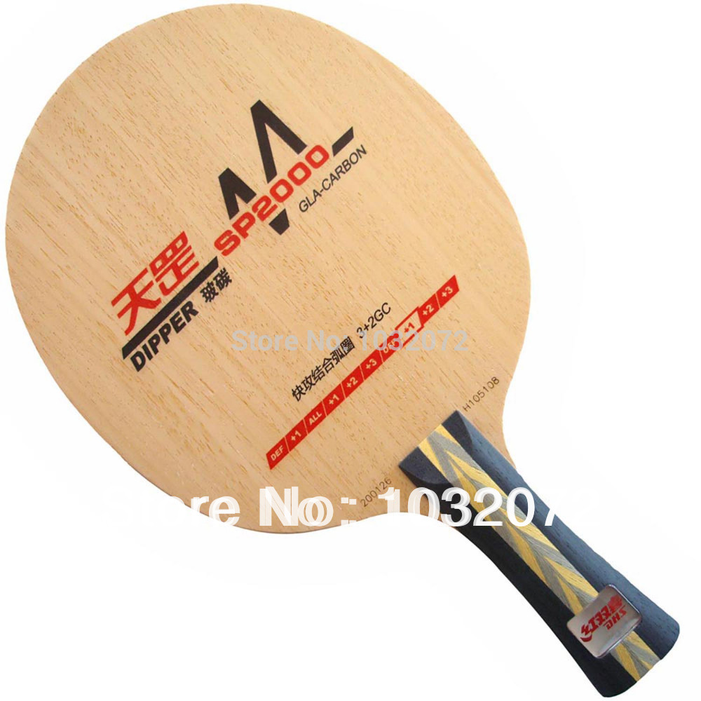 DHS DIPPER SP2000 Shakehand Table Tennis / PingPong Blade dhs tg 506 tg506 tg 506 7 ply off table tennis pingpong blade 2015 the new listing factory direct selling
