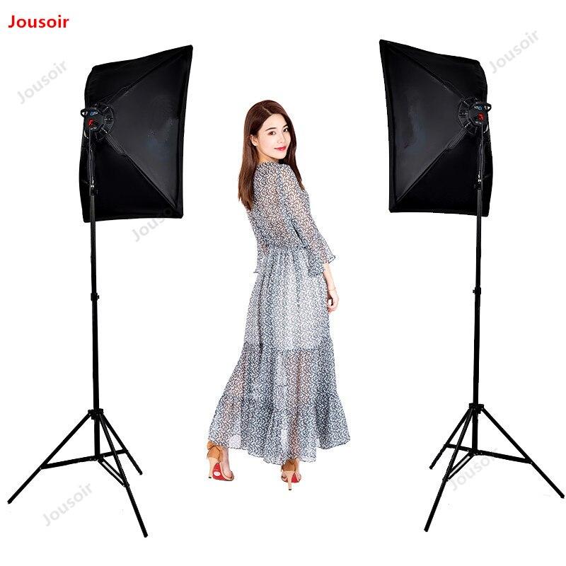 LED ensemble de lampe de photographie Studio boîte à lumière douce intérieur Portrait Lightbox multifonctionnel double usage porte-lampe CD50 T07