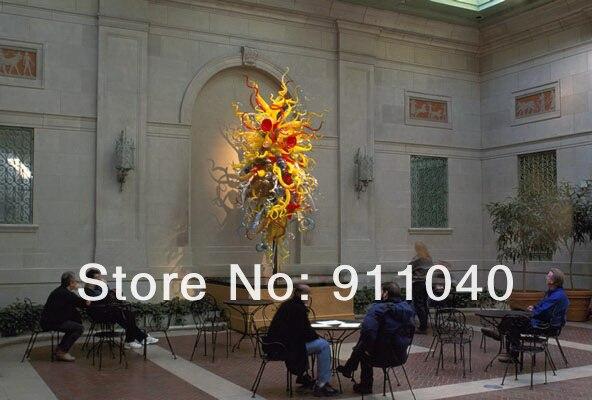 Grand décor mural multicolore en verre soufflé appliques murales Art verre mur Sculpture