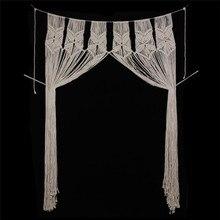 Nordic home big curtain tapestry decoration bohemian decor macrame wall hangings wedding