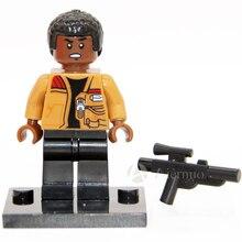 Wholesale No.202 Finn star wars TFA The Force Awakens Individual minifigure super hero compatible With Legoe single sell