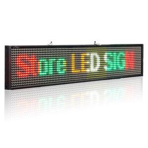 Image 3 - P5 SMD wifi iOS לתכנות גלילה הודעה ססגוניות תצוגת לוח עבור חנות חלון פרסום Led סימן עסקים