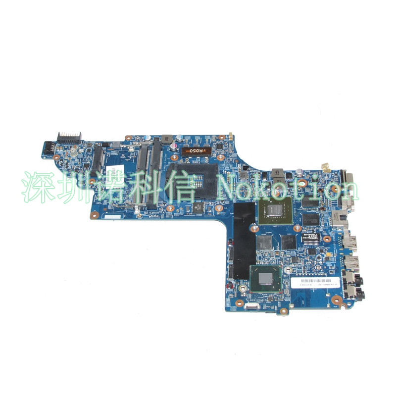 NOKOTION 682169-001 For HP pavilion DV7 DV7T DV7-7000 laptop motherboard 17 Inch GT630M Graphics nokotion 682040 501 682040 001 for hp pavilion dv7 dv7t dv7 7000 laptop motherboard 17 inch hm77 ddr3 gt650m 2gb video card