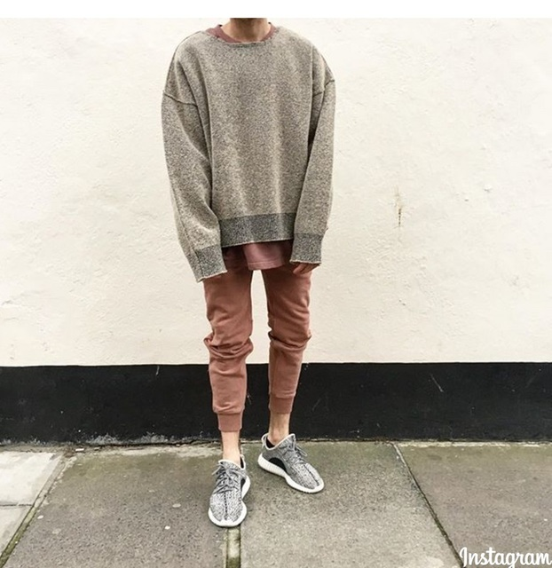 f73d10cbfe7 spring 2016 big and tall mens clothing pull sweaters jumper hip hop kanye  oversized Justin Bieber sweater dress