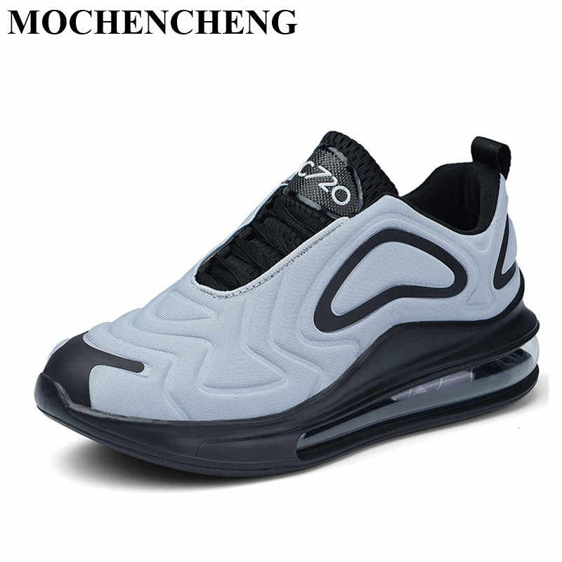 Large Size Shoes Men Sneakers with Air Shock Cushion New Stylish Adult Male Tenis Footwear Ultra Light Soft Design High Quality