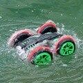 Eléctrica RC Stunt Coche anfibio 2.4G Off-road 4WD RC Coche de Deriva escala 1:18 de radio control stunt cars puede conducir en tierra y agua