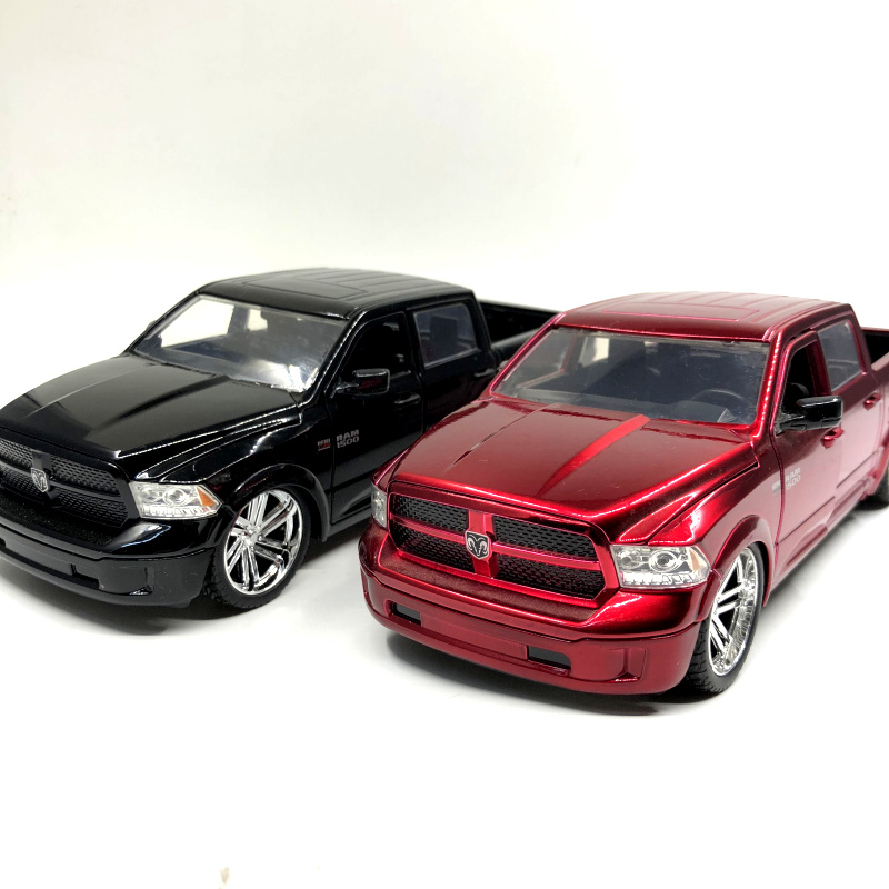 JADA 1/24 Scale Car Model Toys Dodge Ram1500 Pickup Truck Diecast Metal Car Model Toy For Gift,Kids,CollectionJADA 1/24 Scale Car Model Toys Dodge Ram1500 Pickup Truck Diecast Metal Car Model Toy For Gift,Kids,Collection