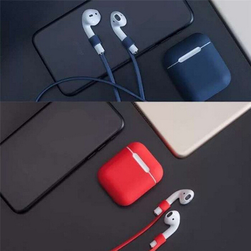 Case for AirPods Soft Silicone Shock Proof Protect Waterproof Cover Earphone