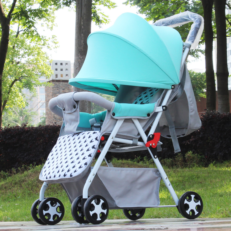 Summer Portable Folding Baby Stroller Comfortable Umbrella Wheelchair Baby Trolley Fashion Light Travel Carry Baby Stroller quick folding small portable baby stroller folding umbrella wheelchair baby carriage travel system car baby trolley pram 0 3y